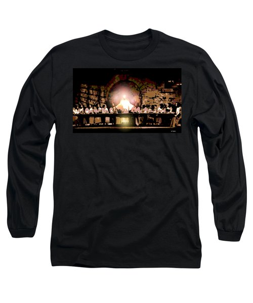 the Last Supper Long Sleeve T-Shirt by George Pedro