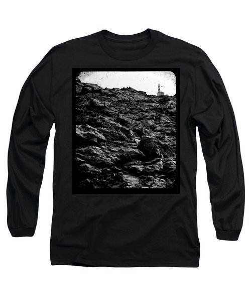 Long Sleeve T-Shirt featuring the photograph The Lighthouse1 by Pedro Cardona