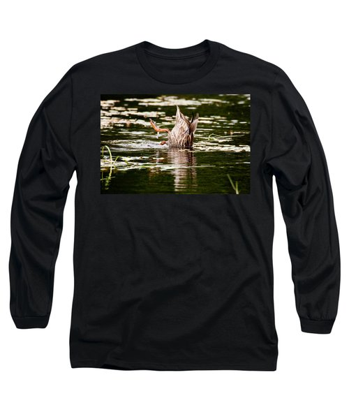 The Meaning Of Duck Long Sleeve T-Shirt by Brent L Ander