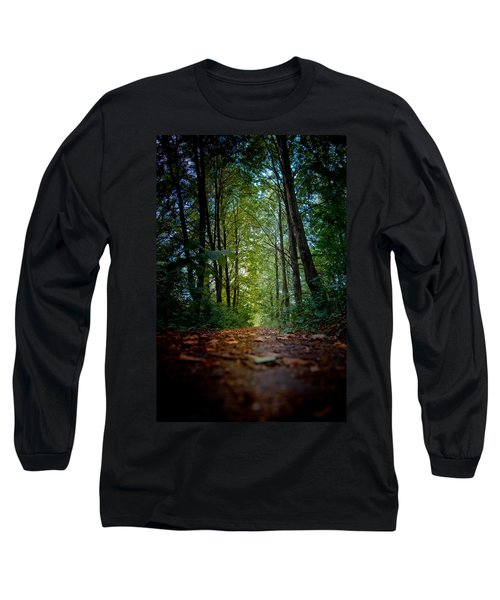 The Pathway In The Forest Long Sleeve T-Shirt