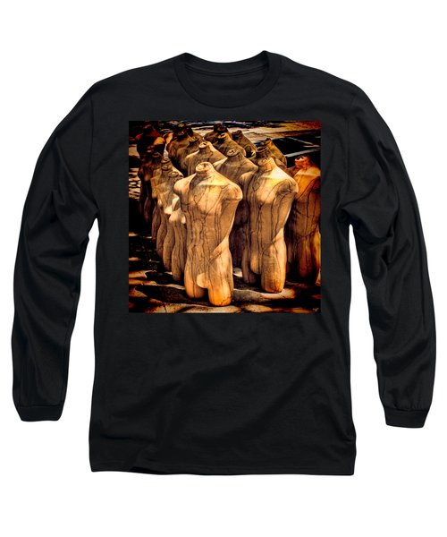 Long Sleeve T-Shirt featuring the photograph The Protest by Chris Lord