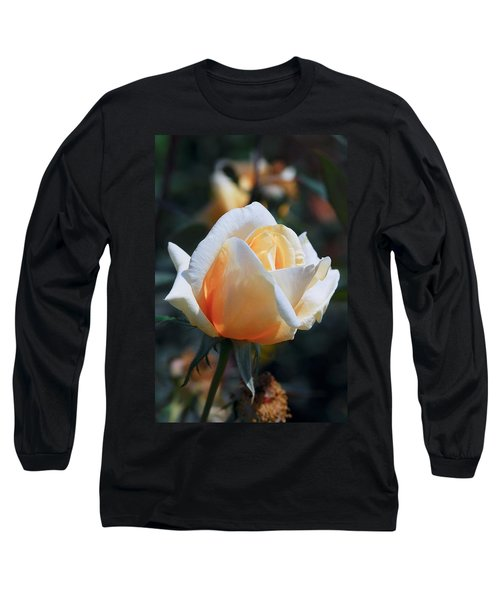 Long Sleeve T-Shirt featuring the photograph The Rose by Fotosas Photography