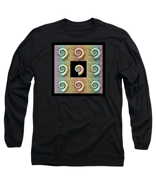 The Shell Long Sleeve T-Shirt by Manny Lorenzo