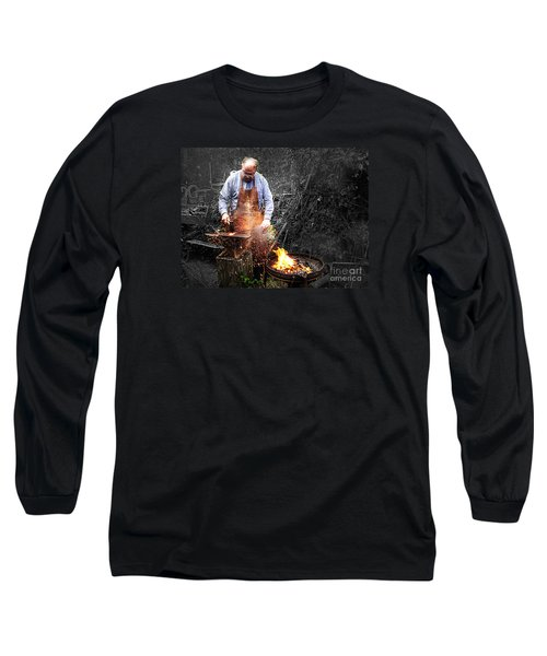 Long Sleeve T-Shirt featuring the photograph The Smith by William Fields