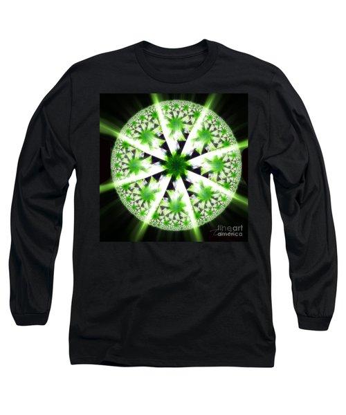 The Vision Of The Healer Long Sleeve T-Shirt by Danuta Bennett