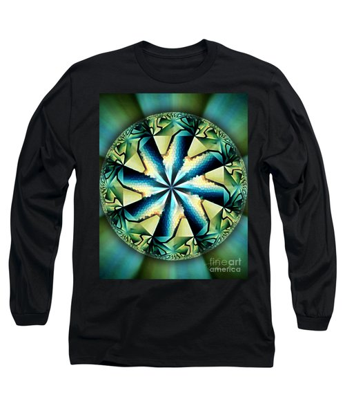The Waves Of Silk Long Sleeve T-Shirt