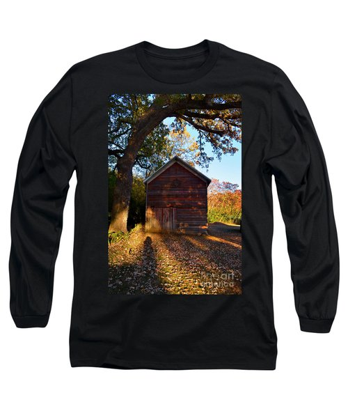 The Weathered Shed Long Sleeve T-Shirt by Sue Stefanowicz