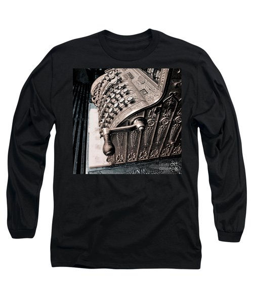 Thinking About Money Long Sleeve T-Shirt