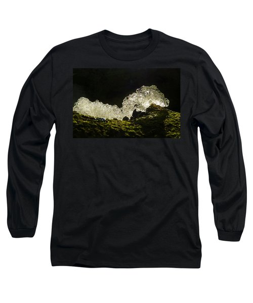 Long Sleeve T-Shirt featuring the photograph This Is A Very Hungry Cold Caterpillar  by Steve Taylor