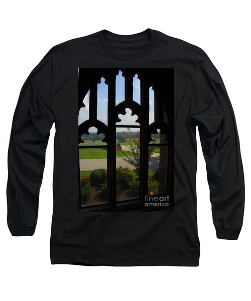 Through The Chapel Arches Long Sleeve T-Shirt by Cindy Manero
