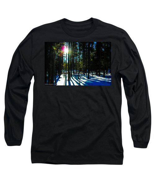 Long Sleeve T-Shirt featuring the photograph Through The Trees by Shannon Harrington