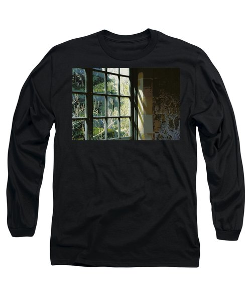 Long Sleeve T-Shirt featuring the photograph View Through The Window by Marilyn Wilson