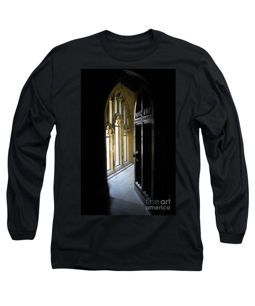 Long Sleeve T-Shirt featuring the photograph Thru The Chapel Door by Cindy Manero