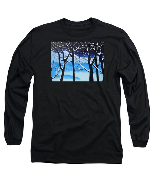Long Sleeve T-Shirt featuring the painting Tis The Season by Dan Whittemore