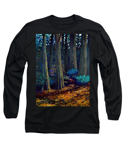 To The Woods Long Sleeve T-Shirt by Jeanette Jarmon