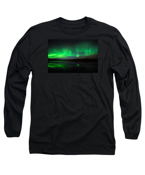 Tofte Lake Aurora Long Sleeve T-Shirt