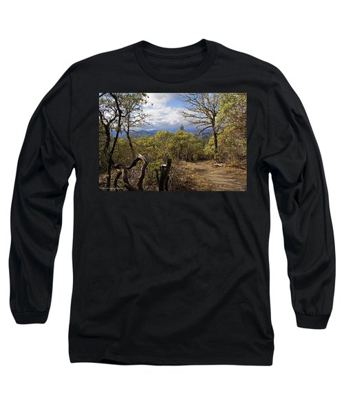 Trail At Cathedral Hills Long Sleeve T-Shirt by Mick Anderson