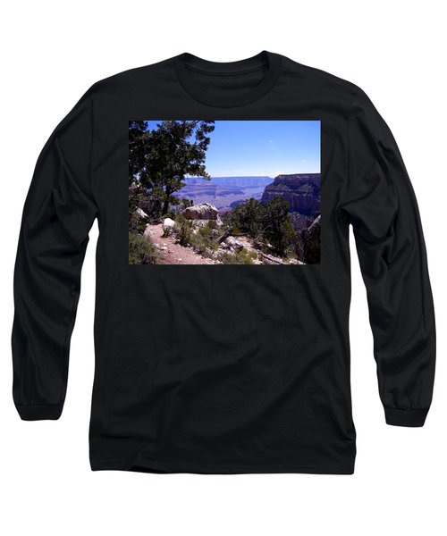 Trail To The Canyon Long Sleeve T-Shirt