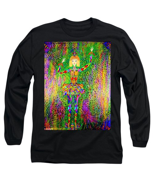 Trapped Ballerina Long Sleeve T-Shirt