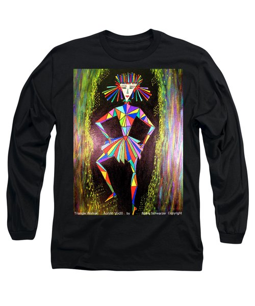 Triangle Woman Long Sleeve T-Shirt
