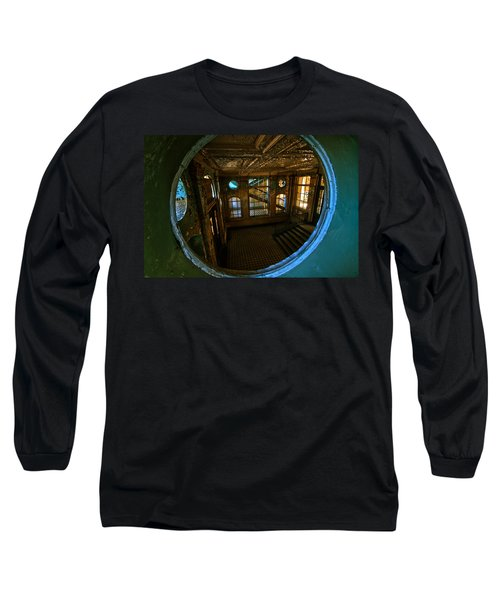 Trough The Round Window Long Sleeve T-Shirt by Nathan Wright