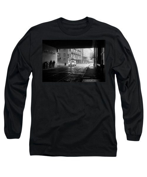 Long Sleeve T-Shirt featuring the photograph Tunnel I by Lynn Palmer