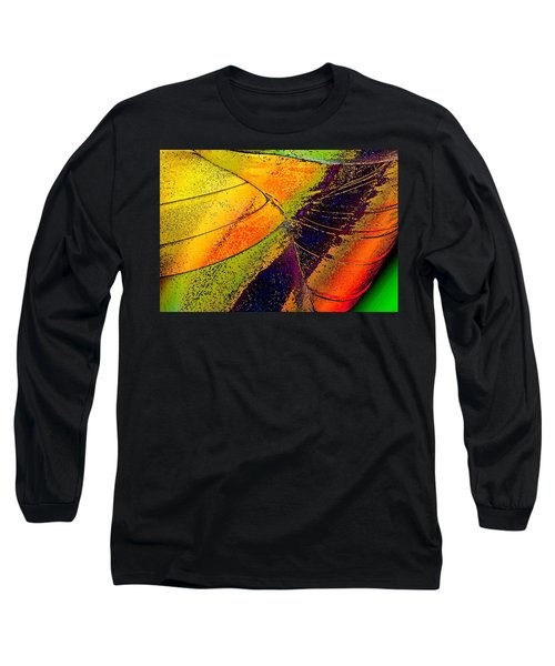 Long Sleeve T-Shirt featuring the photograph Turning Purple  by David Pantuso