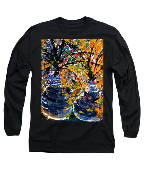 Twin Flowers Long Sleeve T-Shirt