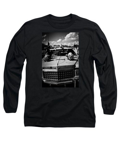 Long Sleeve T-Shirt featuring the photograph Skulls On The Lookout by Toni Hopper