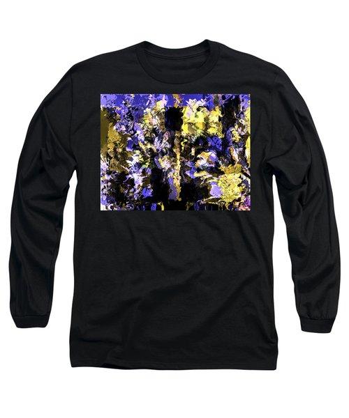 Untitled Blue Long Sleeve T-Shirt