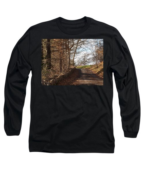 Up Over The Hill Long Sleeve T-Shirt by Robert Margetts