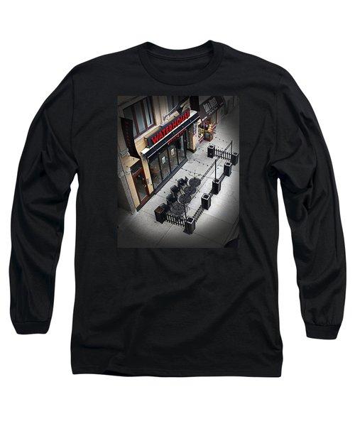 Urban Life Long Sleeve T-Shirt by Milena Ilieva