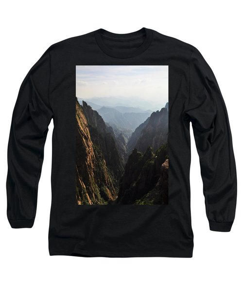 Valley In Huangshan Long Sleeve T-Shirt