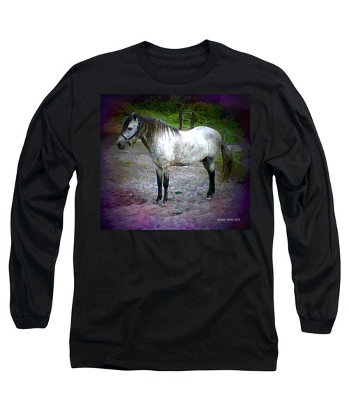 Long Sleeve T-Shirt featuring the photograph Vash The Stampede by George Pedro