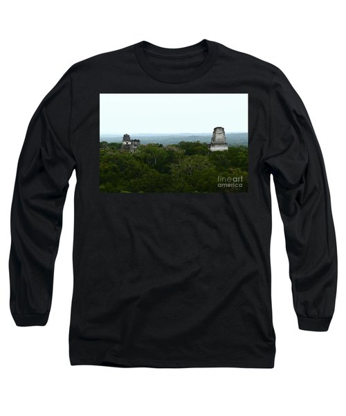 View From The Top Of The World Long Sleeve T-Shirt by Kathy McClure