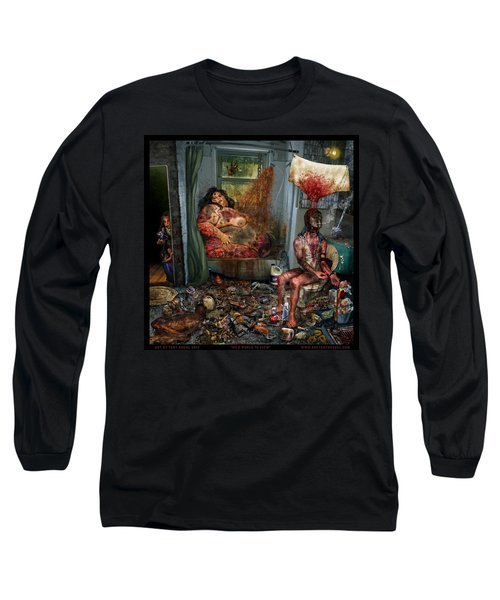 Vile World To View Long Sleeve T-Shirt by Tony Koehl