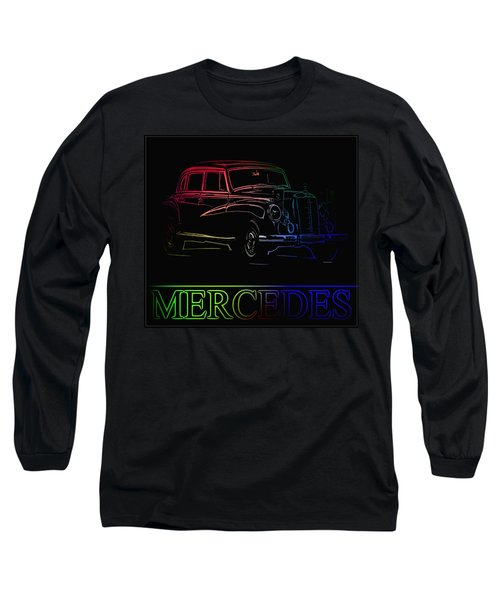 Long Sleeve T-Shirt featuring the photograph Vintage Mercedes by George Pedro
