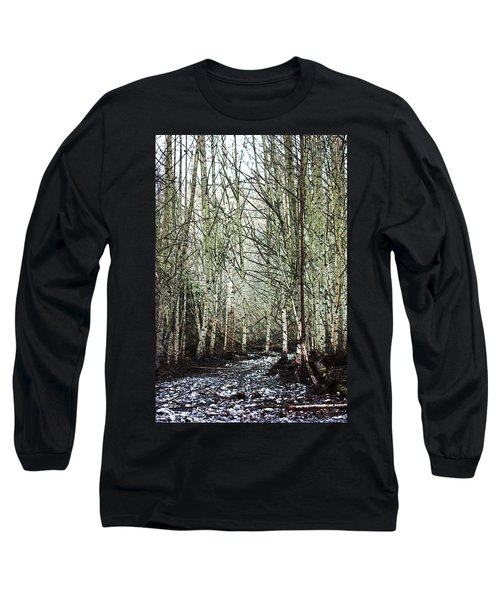 Walk Along The Dungeness Long Sleeve T-Shirt
