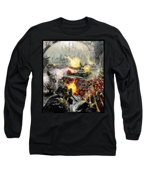 Wars Are Designed To Destroy  Long Sleeve T-Shirt by Tony Koehl