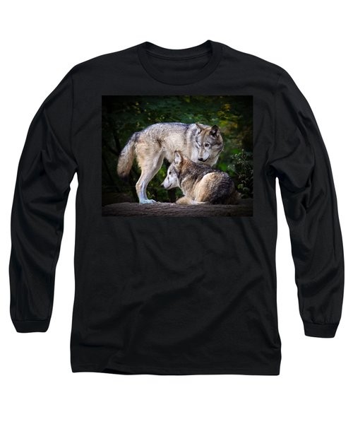Long Sleeve T-Shirt featuring the photograph Watching Over by Steve McKinzie