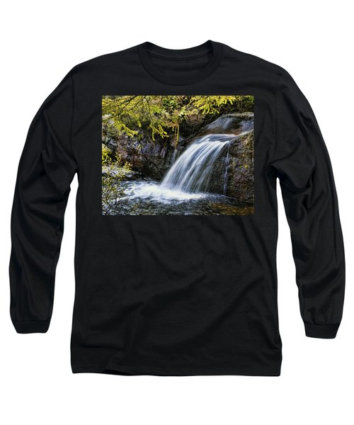 Long Sleeve T-Shirt featuring the photograph Waterfall by Hugh Smith