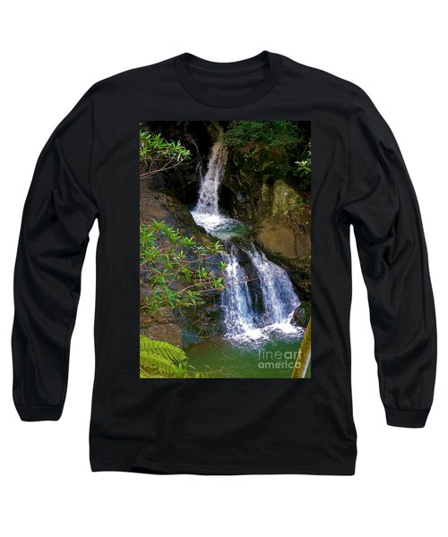 Waterfall In The Currumbin Valley Long Sleeve T-Shirt