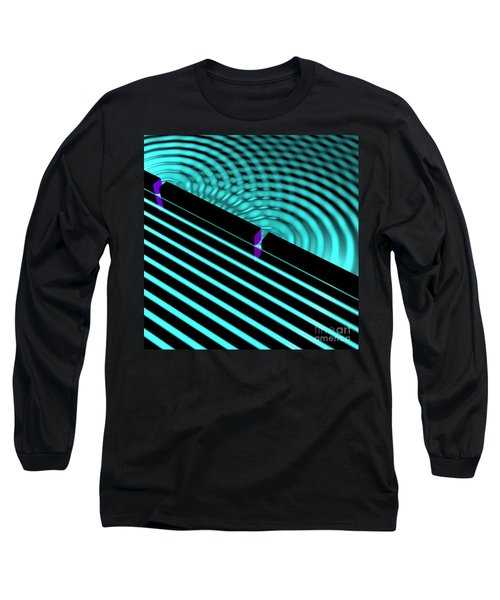 Waves Two Slit 4 Long Sleeve T-Shirt
