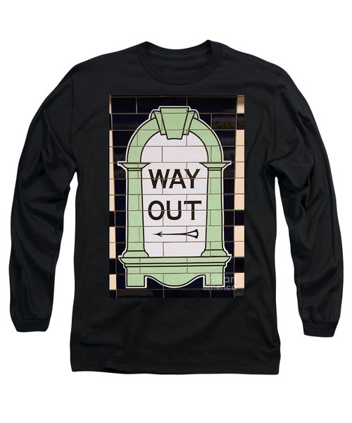 Way Out Long Sleeve T-Shirt