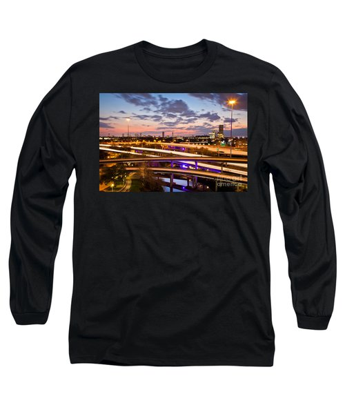 West Houston Around Dowtown Long Sleeve T-Shirt