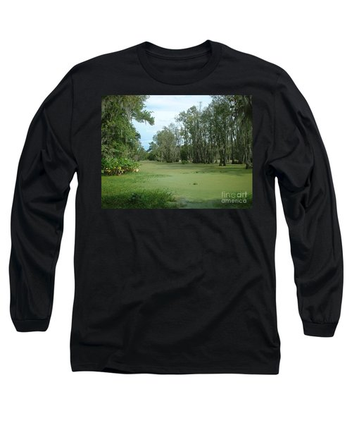 Long Sleeve T-Shirt featuring the photograph Wet Feet by Mark Robbins