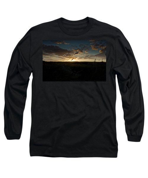 Wheat Fields  Long Sleeve T-Shirt