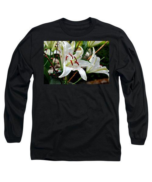 Mother's Day  Lilies  Long Sleeve T-Shirt