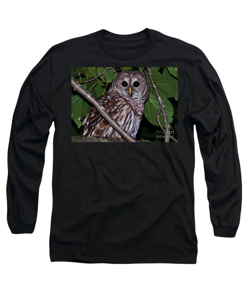 Long Sleeve T-Shirt featuring the photograph Who Are You 2 by Cheryl Baxter