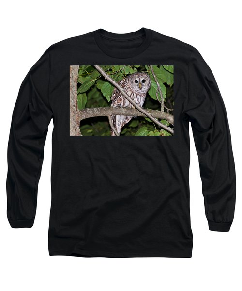 Long Sleeve T-Shirt featuring the photograph Who Are You Looking At by Cheryl Baxter